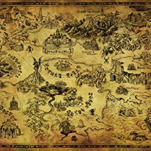 Legend-Of-Zelda-Map-Video-Game-Poster-36x24-0