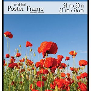 MCS-23440-Original-Poster-Frame-with-Strong-Pressboard-Backing-Back-24-by-30-Inch-0