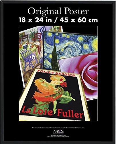 MCS 18×24 Inch Original Poster Frame, Black (23834 ...