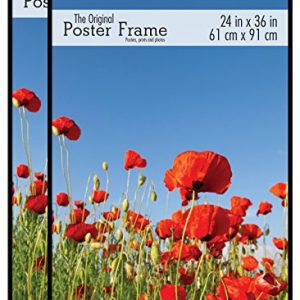MCS-65594-Original-Poster-Frame-24-by-36-Inch-Black-2-Pack-0