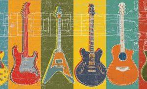 MJ-Lew-Guitar-Hero-Art-Poster-Print-12x24-Art-Poster-Print-by-MJ-Lew-24x12-0
