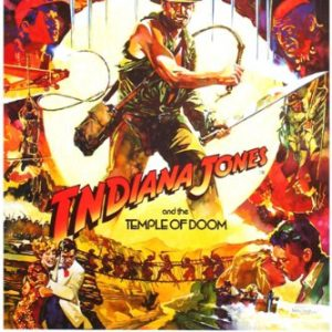 MOVIE-POSTER-INDIANA-JONES-and-the-TEMPLE-of-DOOM-action-adventure-24X36-reproduction-not-an-original-0
