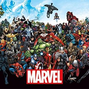 Marvel-The-Lineup-15-Poster-Print-22-x-34-0