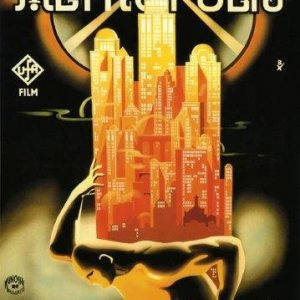 Metropolis-Germany-German-Science-fiction-Movie-Film-20-X-30-Image-Size-Vintage-Poster-Reproduction-0