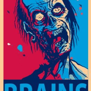 NMR-24969-Zombie-Brains-Decorative-Poster-0