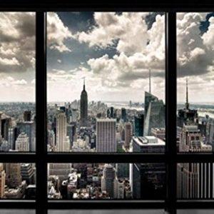 New-York-Window-Poster-Art-Print-0