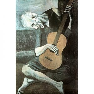 Pablo-Picasso-Old-Guitarist-Art-Print-Poster-24x36-0