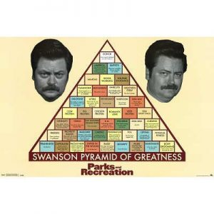 Parks-and-Recreation-Swanson-Pyramid-of-Greatness-Poster-0