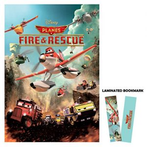 Planes-Fire-and-Rescue-2014-Movie-Poster-Reprint-13-x-19-Borderless-All-0