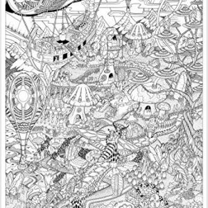 Port-Obello-Coloring-Poster-by-Littlehorn-Posters-Giant-27x40-Inches-0