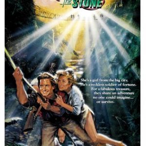 ROMANCING-THE-STONE-movie-poster-michael-DOUGLAS-adventure-love-action-24X36-reproduction-not-an-original-0