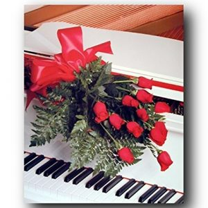 Red-Roses-on-Piano-Romantic-Musical-Instrument-Wall-Decor-Art-Print-Poster-16x20-0
