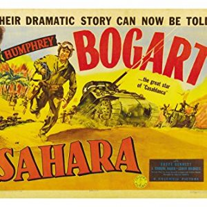 SAHARA-1943-movie-poster-HUMPHREY-BOGART-24X36-action-WWII-ADVENTURE-rare-reproduction-not-an-original-0