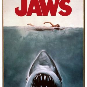Silver-Buffalo-JW0136-Jaws-Movie-Poster-Wood-Wall-Decor-13-in-x-19-in-0