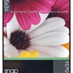 Snap-U-Channel-Poster-Frame-22375-by-34-Inch-Black-0