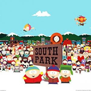 South-Park-Cast-36x24-TV-Art-Print-Poster-Animation-Characters-Comedy-Central-0