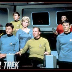 Star-Trek-Enterprise-Crew-36x24-Art-Print-Poster-Wall-Decor-Classic-TV-Show-Science-Fiction-Original-Cast-James-0