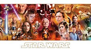 Star-Wars-the-Complete-Saga-Sci-Fi-Movie-Film-Poster-Print-12-by-36-0