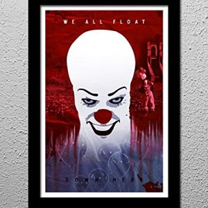 Stephen-Kings-IT-Pennywise-the-Clown-Minimalist-Horror-Art-Poster-Print-0