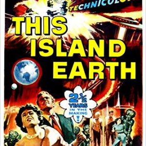 THIS-LAND-EARTH-movie-poster-ACTION-adventure-SPACE-saucers-ALIENS-24X36-reproduction-not-an-original-0