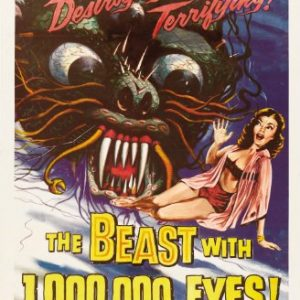 The-Beast-with-a-Million-Eyes-Science-Fiction-B-Movie-Classic-Mini-Art-Print-Poster-0