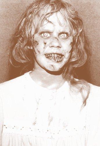The-Exorcist-1973-Horror-Movie-Linda-Blair-11-X-14-Sepia-Poster-0