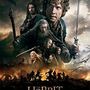 The-Hobbit-3-The-Battle-Of-Five-Armies-Movie-Poster-Print-Regular-Style-B-Battle-Size-24-x-36-0