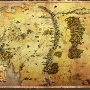 The-Hobbit-Journey-Map-Epic-Fantasy-Adventure-Film-Movie-Print-Poster-24-by-36-0