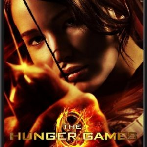 The-Hunger-Games-Katniss-Movie-24x36-Wood-Framed-Poster-Art-Print-0