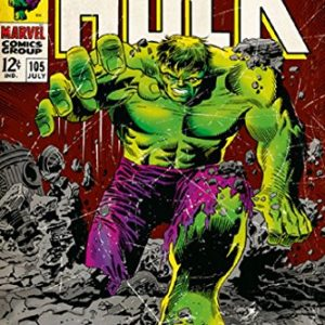The-Incredible-Hulk-Marvel-Comics-Poster-Comic-Cover-Size-24-x-36-0