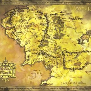 The-Lord-Of-The-Rings-Giant-Movie-Poster-Map-Of-Middle-Earth-Size-53-x-39-0