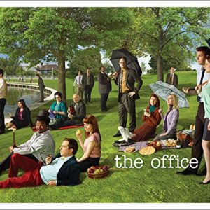 The-Office-Georges-Seurat-Painting-Dunder-Mifflin-Cast-Group-Workplace-Comedy-TV-Television-Show-Poster-Print-Unframed-11x14-0