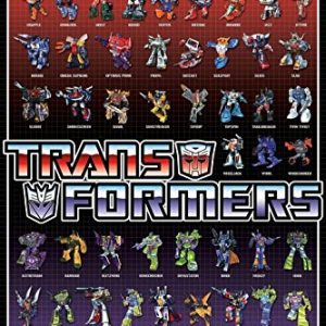 The-Transformers-Cast-59-Characters-36x24-Art-Print-Poster-Wall-Decor-Movie-TV-Series-Science-Fiction-0