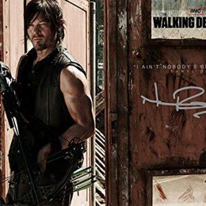 The-Walking-Dead-Season-4-Daryl-Dixon-117-X-83-Signed-Pre-print-Autograph-Norman-Reedus-0