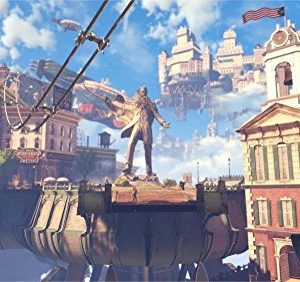 Unknown-Travel-24X36-INCH-ART-SILK-POSTER-Bioshock-Infinite-Steampunk-science-fiction-fantasy-Home-Decoration-Canvas-Poster-0