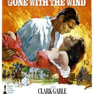 VINTAGE-OSCAR-GONE-with-the-WIND-movie-poster-clark-GABLE-vivian-LEIGH-24X36-Hot-New-0