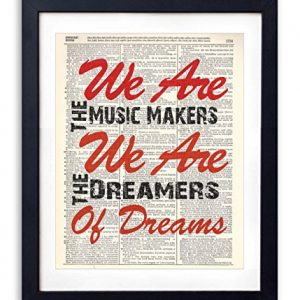 We-Are-The-Music-Makers-Typography-Upcycled-Dictionary-Art-Print-8x10-0