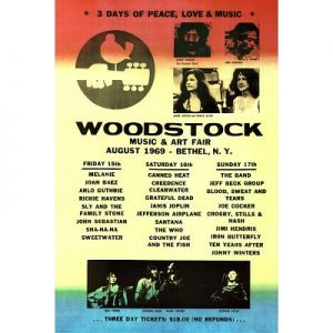 Woodstock-Line-Up-Music-Poster-Print-24x36-0