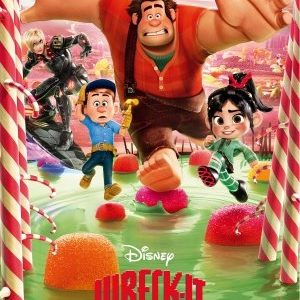 Wreck-It-Ralph-John-C-Reilly-Animation-Movie-Photo-Poster-11x17-11-0