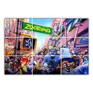 Zootopia-Animal-Adventure-Action-Poster-Large-Print-Giant-Wall-Art-0