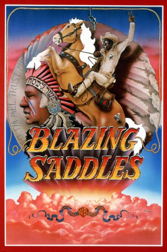BLAZING-SADDLES-movie-poster-INDIAN-HEADDRESS-comedy-24X36-reproduction-not-an-original-0