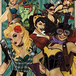 DC-Comics-Bombshells-Poster-Print-Wonder-Woman-Supergirl-Harley-Quinn-Poison-Ivy-Size-22x34-0
