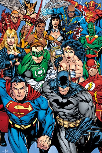 DC-Comics-Collage-Poster-24-x-36in-0