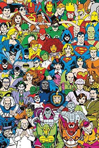 DC-Comics-Retro-Cast-Poster-24-x-36in-0