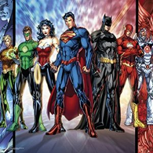 Justice-League-Dc-Comics-Poster-19-x-13in-0