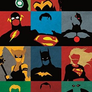 Justice-League-Minimalist-22-x-34-Wall-Poster-0