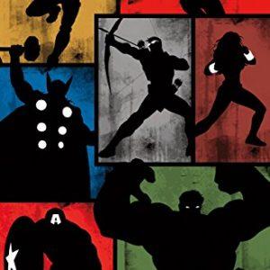 Marvel-Comics-Avengers-Simplistic-Grid-22-x-34-Wall-Poster-0