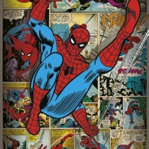Marvel-Comics-Spider-Man-Retro-Poster-0