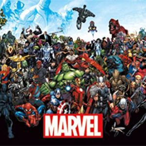 Marvel-Comics-The-Lineup-22-x-34-Inch-Poster-0