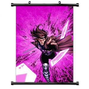 X-Men-Gambit-Comic-Fabric-Wall-Scroll-Poster-16x24-Inches-0